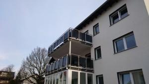 Balkon Glasgeländer